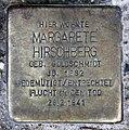 Stolperstein Potsdamer Str 159 (Schön) Margarete Hirschberg.jpg