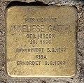 Stolperstein Prinzenallee 58 (Gesbr) Anneliese Gattel.jpg