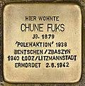 Stolperstein für Chune Fuks (Cottbus).jpg