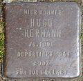 Stumbling block for Hugo Hermann (Frankstrasse 12)