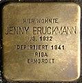 Stolpersteine Krefeld, Jenny Bruckmann (Südwall 34).jpg