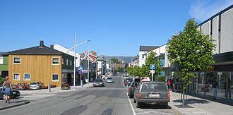 Brønnøysund - Brønnøysund main street