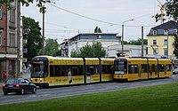 Straßenbahnwagen 2831 und 2631 Dresden.jpg