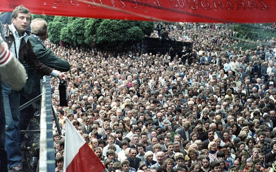 Strajk sierpniowy w Stoczni Gdańskiej im. Lenina 07