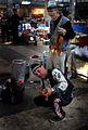 Street musicians at a market in Tajikistan.jpg