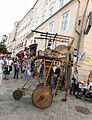 Street performer in Linz during the Pflasterspektakel festival (8166658881).jpg