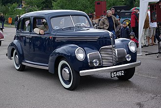 Studebaker Champion - 1939 Series G 4-Door Sedan