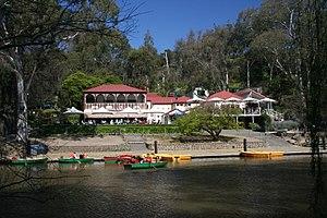 Yarra Bend Park - Studley Park Boathouse on the Yarra River