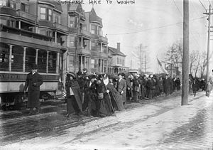 Suffrage Hikes - Image: Suffrage hike