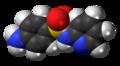 Sulfapyridine molecule spacefill.png