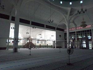 Sultan Ismail Jamek Mosque - Sultan Ismail Jamek Mosque prayer hall