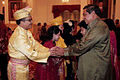Sultan Kamal Abraham Abdul Jalil Rahmad Shah bersama Presiden SBY.jpg