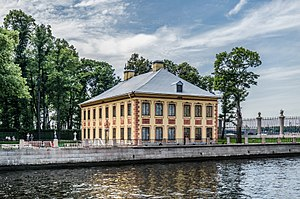 1714 in architecture - Summer Palace of Peter the Great, St Petersburg