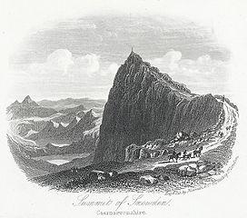 Summit of Snowden, Caernarvonshire