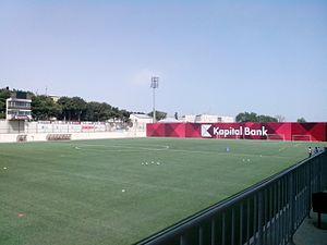 PASHA Holding - Kapital Bank Arena, home stadium of Sumgayit FK has a capacity of 13,500