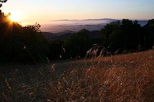 Fremont Peak State Park - Sunset view from Fremont Peak State Park
