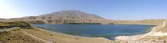 Zilan massacre - Mount Süphan from Lake Aygır.