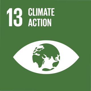 Sustainable Development Goal 13 The 13th of 17 Sustainable Development Goals to take urgent action to combat climate change and its impacts