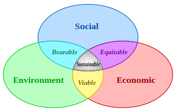 Sustainable: Socially, Environmentally, and Economically