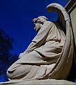 Sutton War Memorial angel, Manor Park, Sutton, Surrey, Greater London.jpg