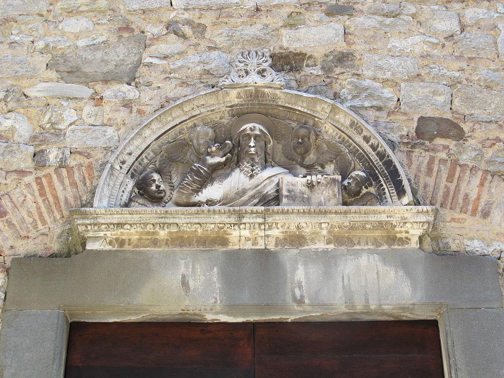 File suvereto chiesa della madonna sopra la porta for La porta media