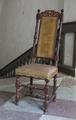 Svarvad stol, 1600-talets sista hälft - Skoklosters slott - 103832.tif