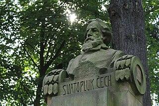 Busta Svatopluka Čecha