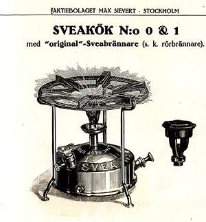Portable stove - Early portable kerosene stove.