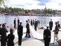 File:SwedishRoyalWeddingBrideAndGroomLeavesOnABoat full.ogv