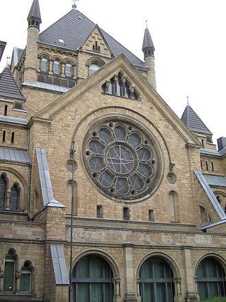 Roonstrasse Synagogue - Image: Synagoge Koeln 5