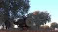 Syrian opposition artillery bombards Khuwain.png