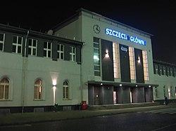 Szczecin Główny (by night)