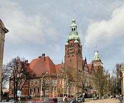 Vojvodæmbetbygningen i Szczecin.