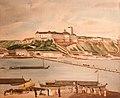 Szentgyörgyi - Buda Castle Hill from Pest, 1827.jpg