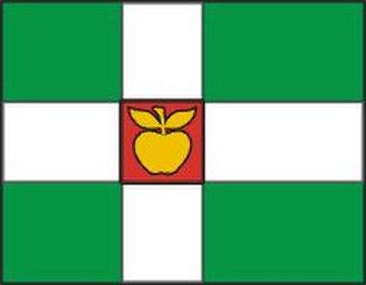 Nordic Cross flag - Image: Türi valla lipp