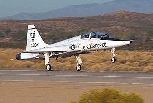 Jet trainer - An U.S. Northrop T-38 Talon