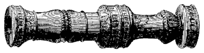 T3- d356 - Fig. 214 — Bombarde italienne au XVe siècle.png