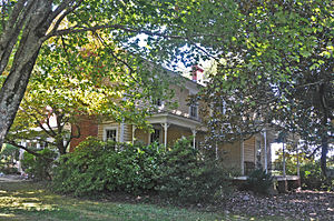 Thomas and Mary Hogan House - Thomas and Mary Hogan House, March 2007