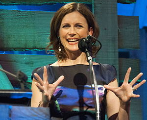 Katie Derham - Derham at the 2014 BBC Radio 2 Folk Awards