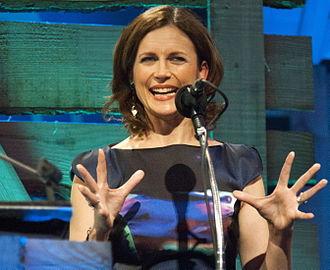 Katie Derham - Derham at the 2014 BBC Radio 2 Folk Awards