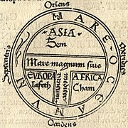 T and O map Guntherus Ziner 1472