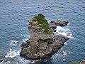 Tachigami-iwa from Nearest Viewing Site.jpg