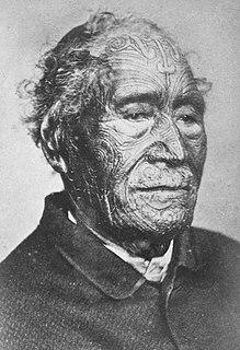 Tāmati Wāka Nene Maori chief