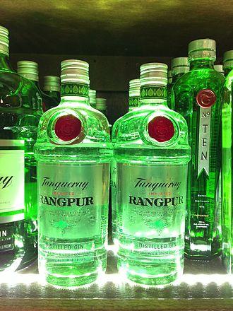 Tanqueray - Image: Tanqueray Gin HDR Feb 2013