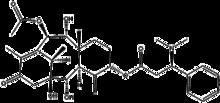 Молекулярная структура таксин B