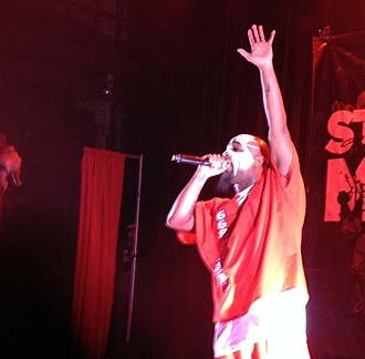 Tech N9ne - Tech N9ne performs at The Blue Note in Columbia, Missouri, in December 2013.