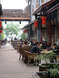 Chengdu is famous for its teahouses