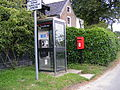 Telephone and Postbox, The Green, Benhall - geograph.org.uk - 1405022.jpg