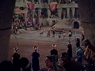 Samson and Delilah (1949 film) - George Barnes's cinematography was nominated for both the Academy Award and the Golden Globe Award.