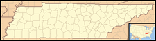 Caryville is located in Tennessee